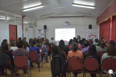 En el seminario participaron 50 docentes de Inglés de Hualpén.