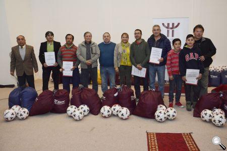 La premiación se realizó en el Centro de Participación Ciudadana.